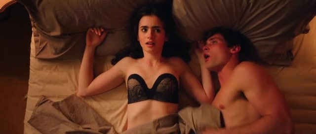 Lily collins sex