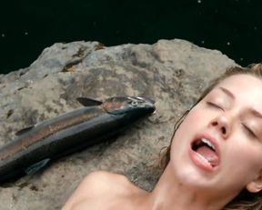 Amber Heard naked - The River Why (2010)