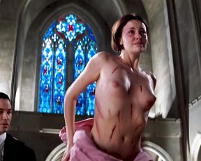 Charlize Theron, Connie Nielsen nude - THE DEVIL'S ADVOCATE