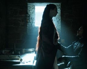 Carice van Houten nude, Josephine Gillan nude – Game of Thrones s05e04 (2015)