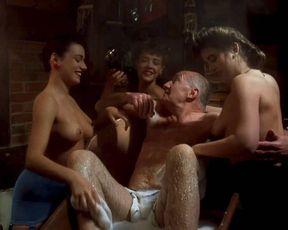 Landon Hall, Michelle Bauer, Jasmine Tousche nude – Puppet Master 3 (1991)