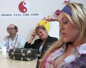 Daniella Blume blowjob from Que glande es el cine (2005)