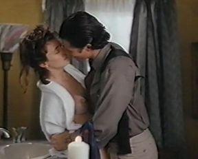 Mia Sara nude – Caroline at Midnight (1993)