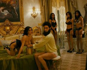 Megan Fox, Anna Faris, Dawn Jackson, Dominique DiCaprio naked – The Dictator (2012)