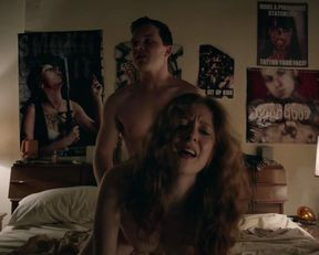 Emmy Rossum, Kate Morgan Chadwick naked – Shameless s05e12 (2015)