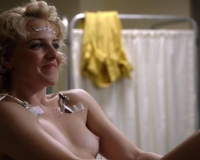 Lizzy Caplan, Helene Yorke nude – Masters of Sex s01e06 (2013)