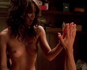 Lizzy Caplan nude – True Blood s01 (2008)