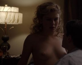 Lizzy Caplan, Rose McIver nude – Masters of Sex s01e04 (2013)