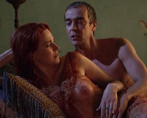 Lucy Lawless nude – Spartacus: Blood and Sand s01e10 (2010)